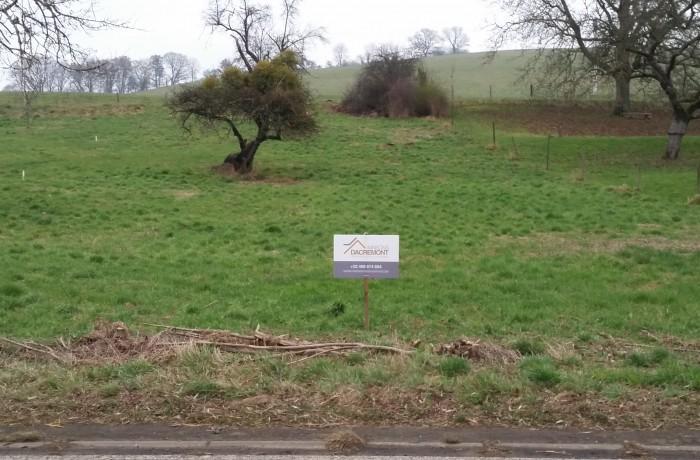 A vendre superbe terrain à bâtir à Grancourt (Virton)