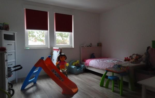 Chambre enfant, mobilier, décoration, construction maison, Chenois, Province Luxembourg, Belgique