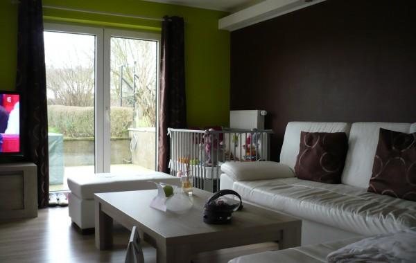 Salon, décoration, peintures, luminaire, Virton, Province Luxembourg, Belgique