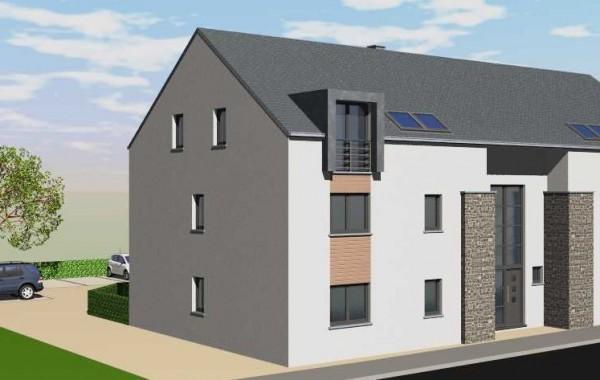 Résidence 6 appartements (Avant), Chenois, Province Luxembourg, Belgique