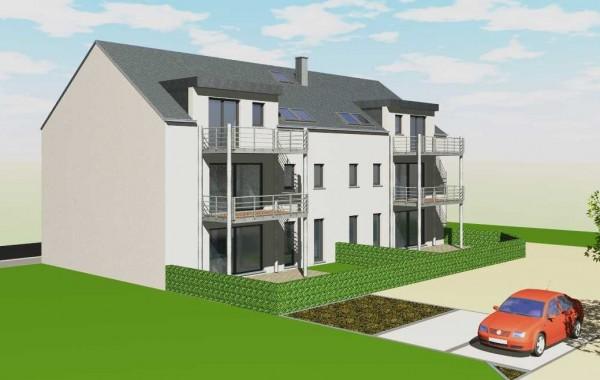 Résidence 6 appartements (Arrière), Chenois, Province Luxembourg, Belgique