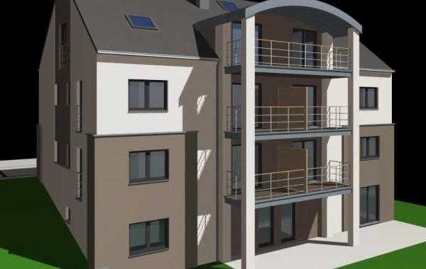 Résidence 6 appartements (Arrière), terrasses, jardins privatifs, Ethe, Province Luxembourg, Belgique