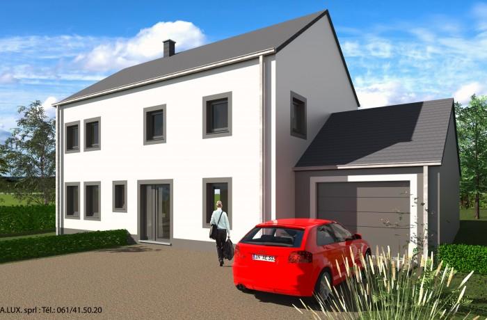 Maison unifamiliale à Louftémont (Avant)